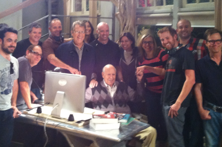 carl reiner on two and a half men!