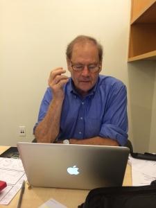 My incredible director, Mr. Bruce Beresford!