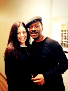 First time meeting Eddie Murphy & the start of a beautiful friendship.